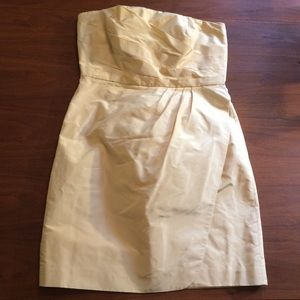 J Crew Silk Strapless Dress